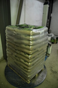 volle pallet ENplusA1 pellets